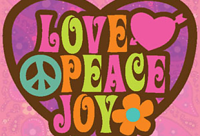 FotoTapeta - Love Peace Joy 4937