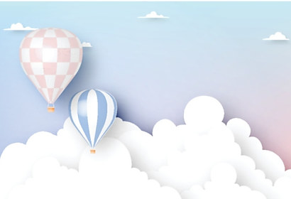 Fototapeta Hot air balloon ft-242168057