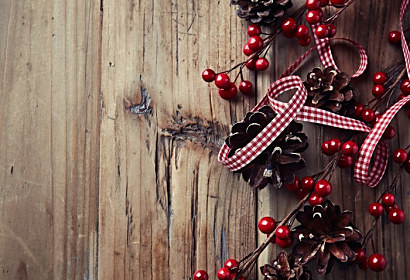 Fototapeta Rustic Christmas decor ft-56606144