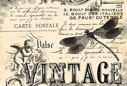 Fototapeta Vintage collage background ft-50349663