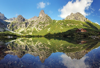 Fototapeta Green Lake High Tatras 69835285