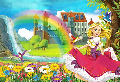 Fototapeta Princess and Castle 24733